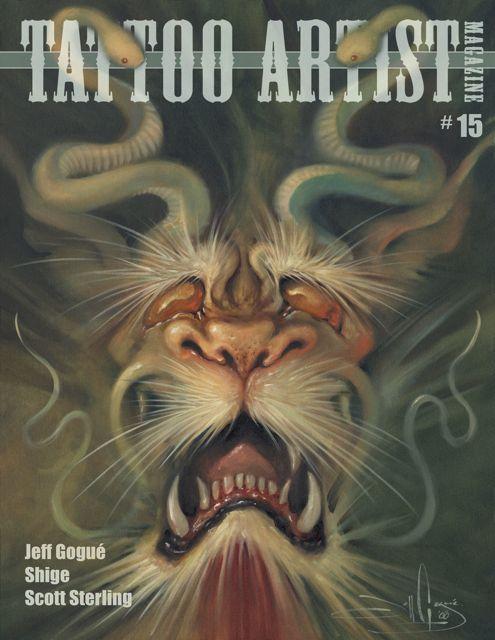 Artist profile jeff gogu video tam blog for Tattoo artist magazine download