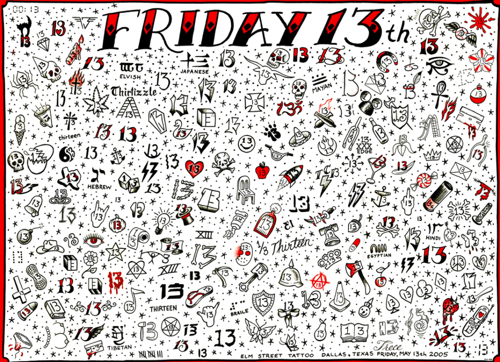 Friday the 13th at Elm St. Tattoo Hosted by Sailor Jerry Rum | TAM ...