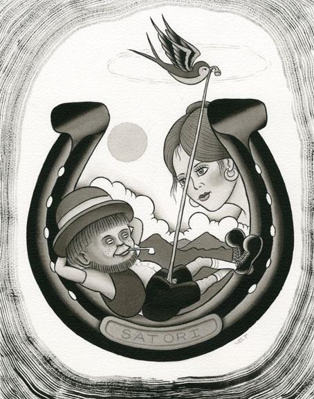 New scott harrison paintings available on headband for Tattoo artist magazine download
