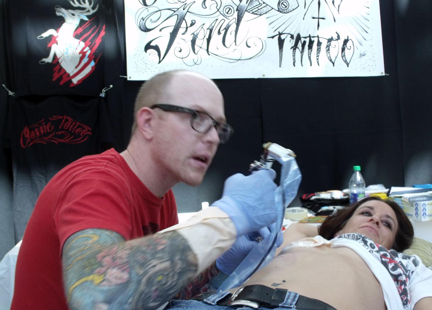 beautiful tattooed people