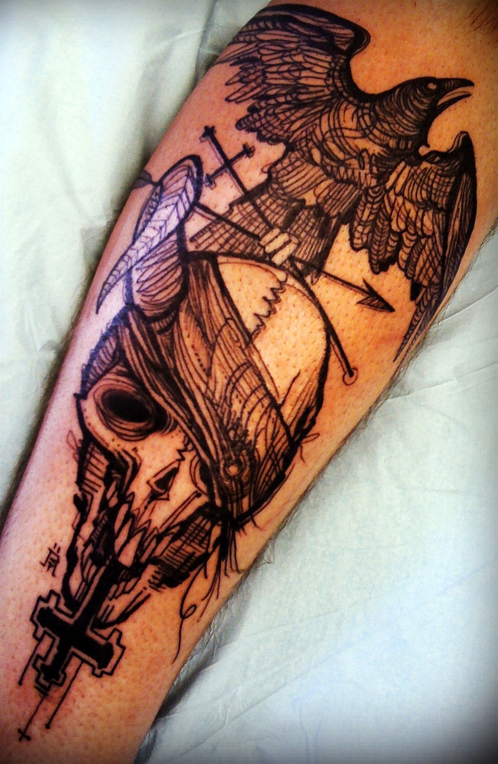 Dawn cooke 32 great tattoo artists everyone should know for Good tattoo artists