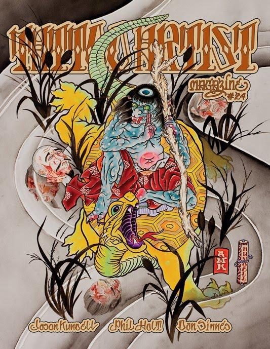Marcus kuhn the gypsy gentleman episode iii video for Tattoo artist magazine download
