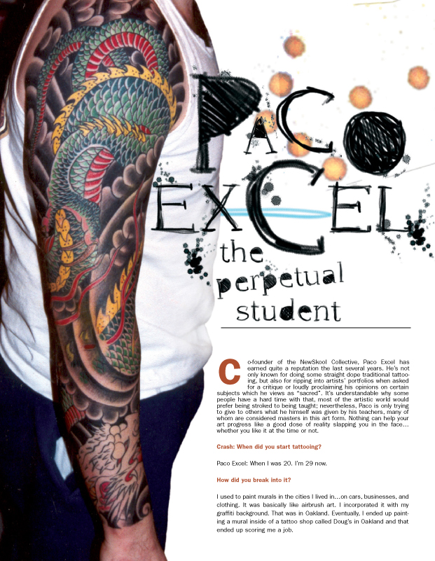 Tattoo artist magazine goes digital issues 1 and 30 for Tattoo artist magazine download