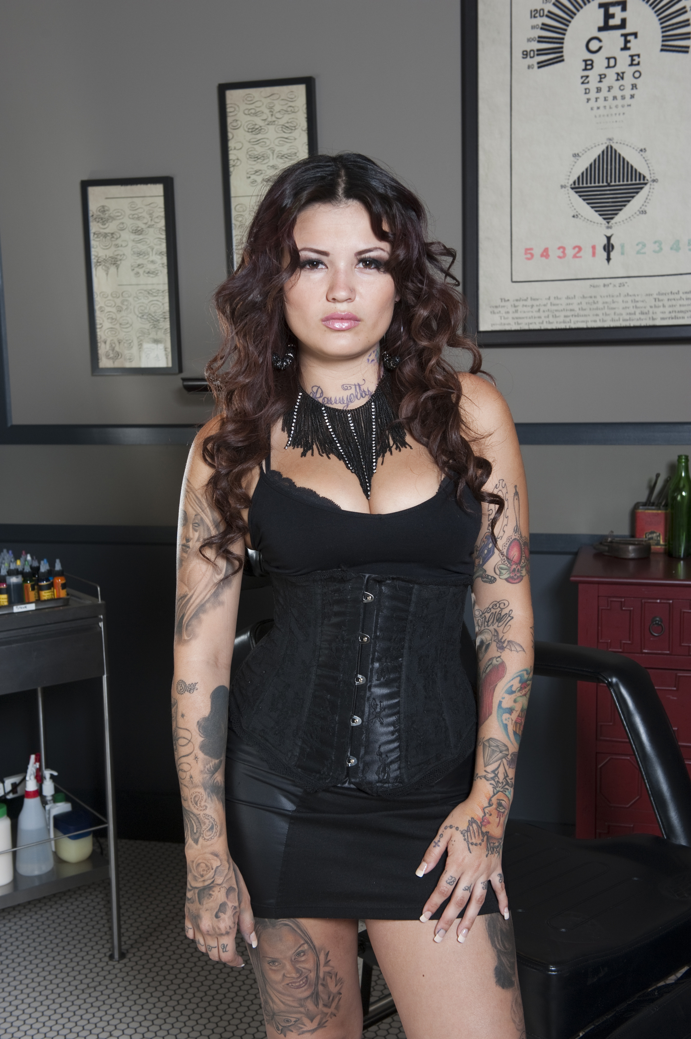 "Katherine ""Tatu Baby"" Flores, Contestant on Season 2 of Spike's"