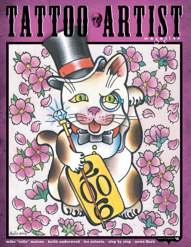 Tattoo artist magazine goes digital issues 5 8 and for Tattoo artist magazine download