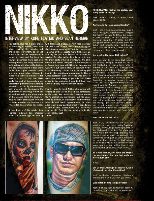 Tattoo artist magazine goes digital issues 20 and 21 for Tattoo artist magazine download