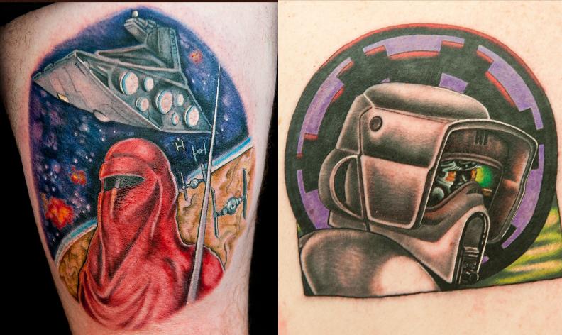 Star Wars Tattoos Ink Master
