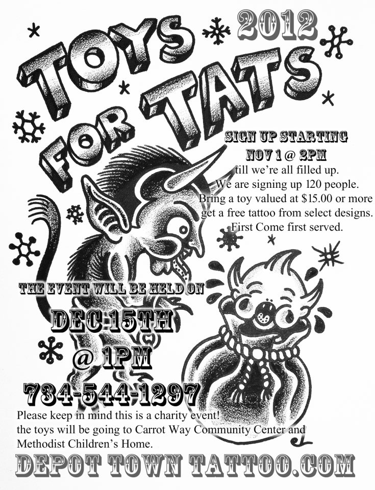 Toys For Tats : Dawn cooke tam