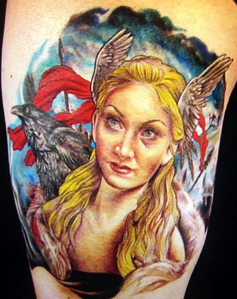 Sarah Miller Ink Master Body Victor Farinell...