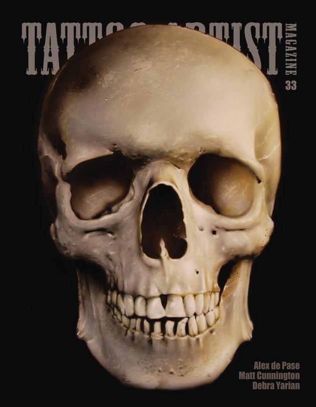 Alex de pase tattoo artist magazine issue 33 interview for Tattoo artist magazine download
