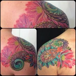 melisa fusco paisley tattoo