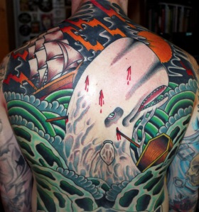 moby dick back piece tattoo myke chambers