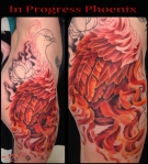 melissa fusco in progress phoenix tattoo
