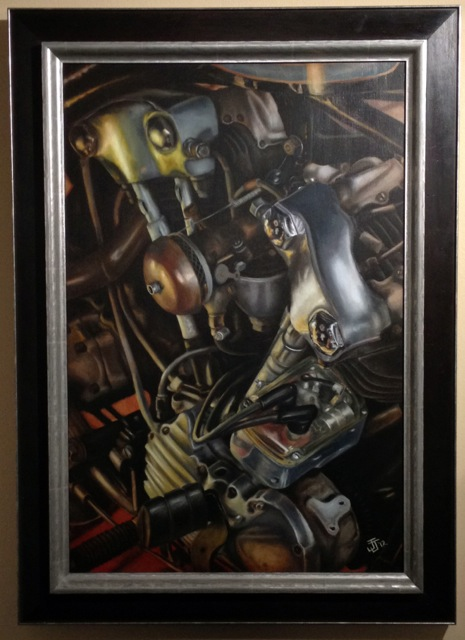 Knucklehead framed
