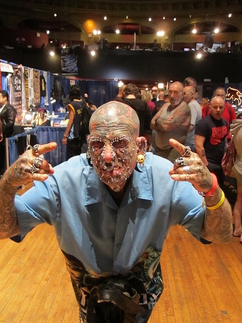 NYC Tattoo Convention freak