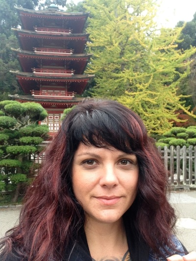 Dawn cooke at Japanese tea garden