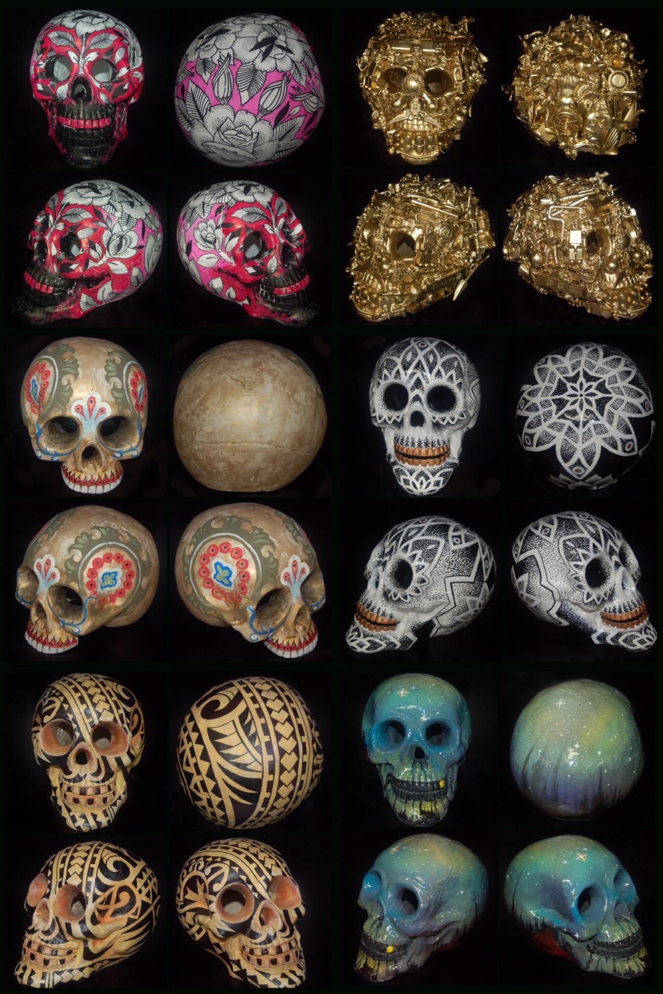 lark tattoo skulls group